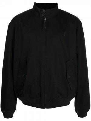Куртка Baracuda на молнии Polo Ralph Lauren. Цвет: черный