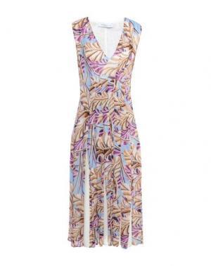 Платье до колена PARAKIAN. Цвет: светло-фиолетовый