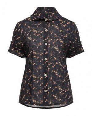 Pубашка VIVIENNE WESTWOOD ANGLOMANIA. Цвет: темно-коричневый