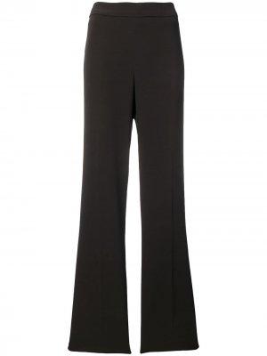 Прямые брюки 1990-х годов Krizia Pre-Owned. Цвет: коричневый