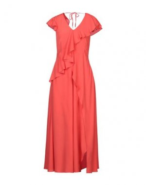 Платье до колена CARACTÈRE. Цвет: оранжевый