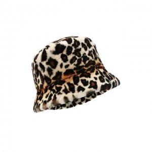 Шляпа из меха норки Kussenkovv. Цвет: разноцветный