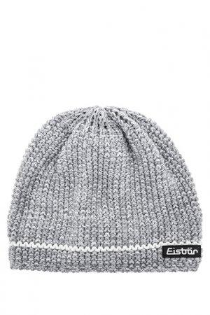 Шапка Eisbar. Цвет: серый