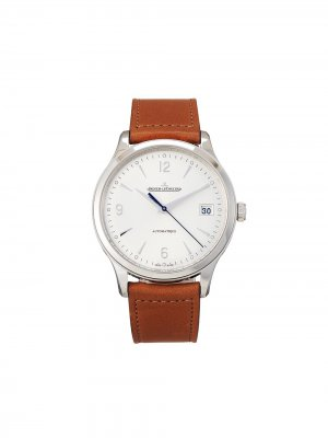 Наручные часы Master Control Date pre-owned 40 мм 2021-го года Jaeger-LeCoultre. Цвет: белый