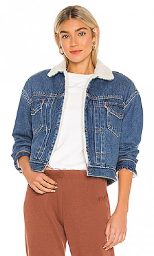 Джинсовая куртка new heritage LEVIS LEVI'S. Цвет: синий
