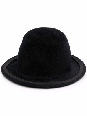 Шляпа-федора Ann Demeulemeester. Цвет: черный