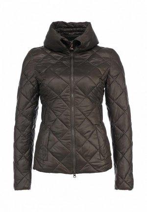 Куртка Fornarina FO019EWAEG24. Цвет: серый