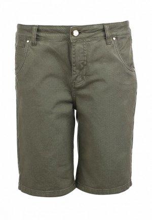 Шорты джинсовые G-Sel GS002EWHO135. Цвет: хаки