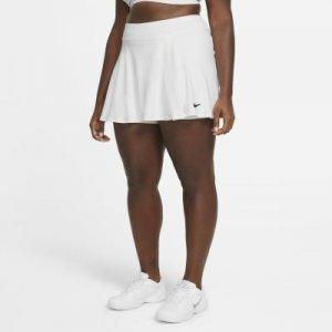 Теннисная юбка NikeCourt Victory (большие размеры) - Белый