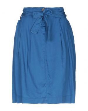 Юбка до колена ALVIERO MARTINI 1a CLASSE. Цвет: пастельно-синий