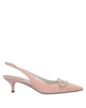 Туфли RENE' CAOVILLA. Цвет: розовый