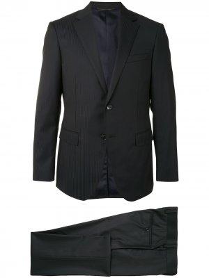 Durban костюм с однобортным пиджаком D'urban. Цвет: черный