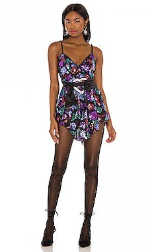 Платье для вечеринок ariana For Love & Lemons. Цвет: черный