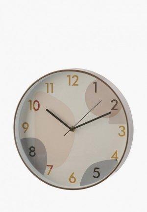 Часы настенные Decogallery. Цвет: белый