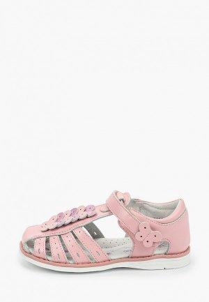 Сандалии Antilopa. Цвет: розовый