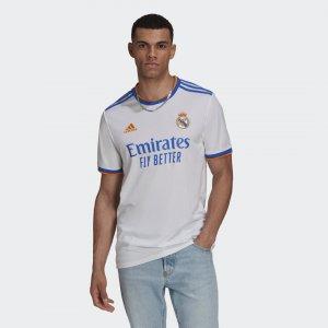 Домашняя игровая футболка Реал Мадрид 21/22 Performance adidas. Цвет: белый