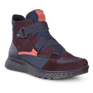 Ботинки ST.1 ECCO. Цвет: фиолетовый