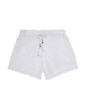 Пляжные брюки и шорты DIANE VON FURSTENBERG. Цвет: белый