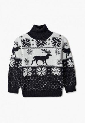 Свитер Wool&Cotton. Цвет: черный