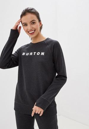 Свитшот Burton W OAK CREW. Цвет: черный
