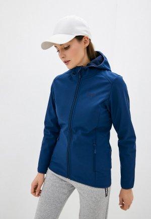 Куртка Jack Wolfskin NORTHERN POINT WOMEN. Цвет: синий