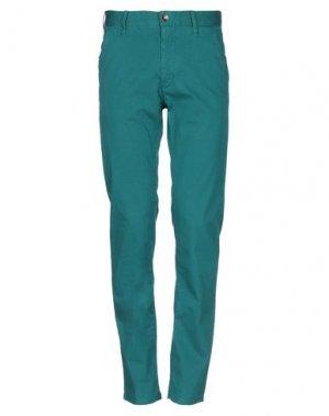 Повседневные брюки GAS. Цвет: зеленый