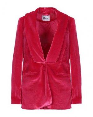 Пиджак SELF-PORTRAIT. Цвет: фуксия