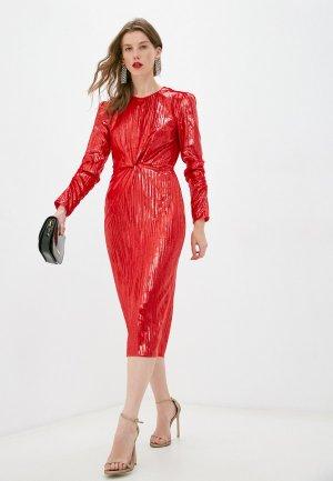 Платье Diane von Furstenberg. Цвет: красный