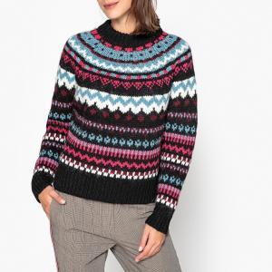 Пуловер из плотного трикотажа RANTIGNY ESSENTIEL ANTWERP. Цвет: черный