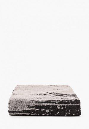 Полотенце adidas FCB TOWEL. Цвет: черный