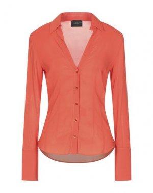 Pубашка ATOS LOMBARDINI. Цвет: оранжевый