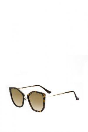 Солнцезащитные очки TROPICAL. Цвет: коричневый