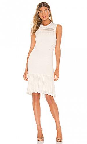 Мини платье evalina Bailey 44. Цвет: белый