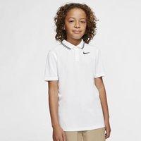 Рубашка-поло для гольфа мальчиков Dri-FIT Victory - Белый Nike