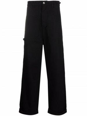 Широкие джинсы Crumpet HENRIK VIBSKOV. Цвет: черный