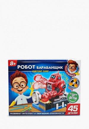 Набор для опытов Играем Вместе Робот барабанщик. Цвет: разноцветный