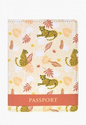 Обложка для паспорта BB1. Цвет: бежевый