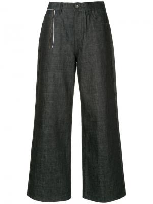 Широкие джинсовые брюки Marni