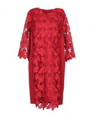 Короткое платье COCCAPANI. Цвет: красный