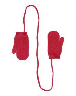 Перчатки DSQUARED2. Цвет: красный