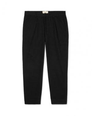 Повседневные брюки FOLK. Цвет: черный