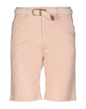 Бермуды BELLFIELD. Цвет: светло-розовый