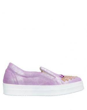 Низкие кеды и кроссовки GIANCARLO PAOLI. Цвет: розовато-лиловый