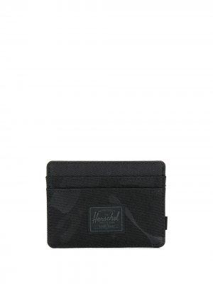 Картхолдер с камуфляжным принтом Herschel Supply Co.. Цвет: черный