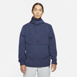 Мужской анорак с капюшоном без подкладки Sportswear Premium Essentials - Синий Nike