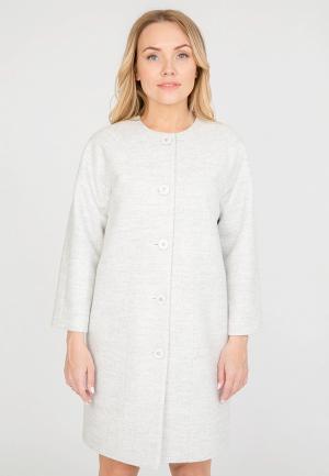 Пальто Akimbo. Цвет: белый