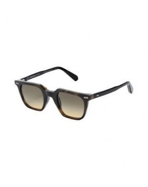 Солнечные очки MOVITRA. Цвет: зеленый
