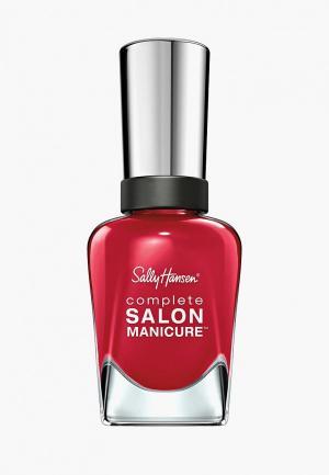 Лак для ногтей Sally Hansen Complete Salon Manicure, 213 Killer Heels, 14 мл. Цвет: красный