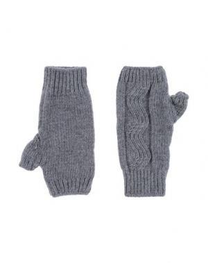 Перчатки JIL SANDER NAVY. Цвет: серый