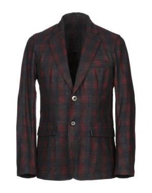 Пиджак THE EDITOR. Цвет: красно-коричневый